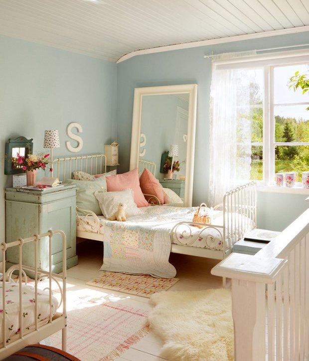Фотография: Спальня в стиле Прованс и Кантри, Дом, Дома и квартиры, IKEA, Проект недели, Дача – фото на INMYROOM
