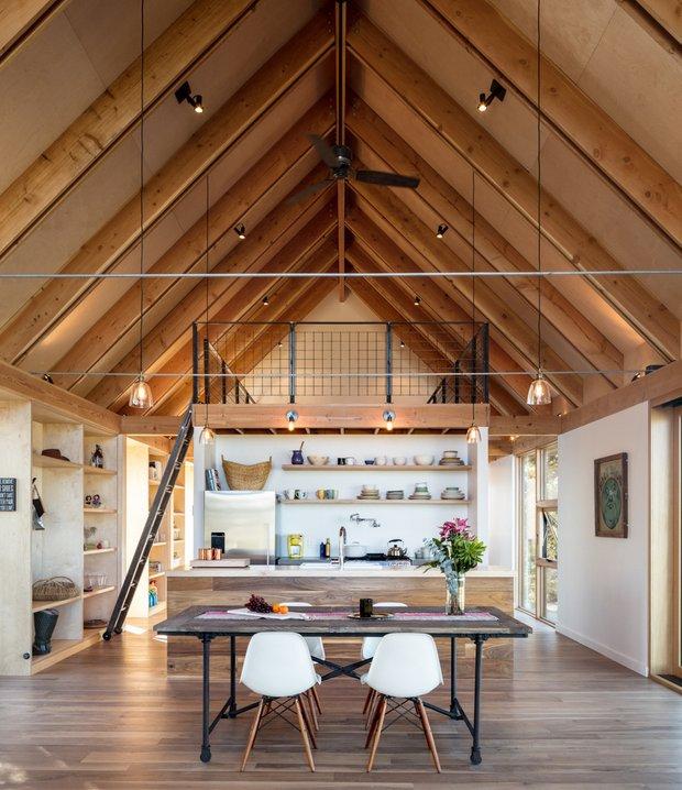 Фотография:  в стиле , Современный, Дом, Минимализм, Эко, Дом и дача, Более 90 метров, Колорадо – фото на INMYROOM
