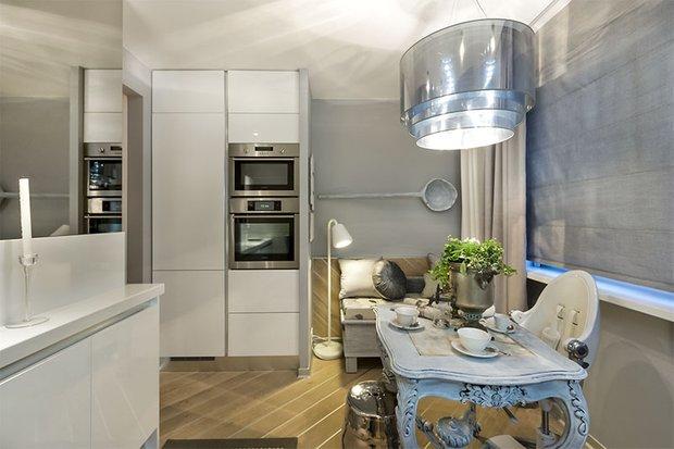 Фотография: Кухня и столовая в стиле Классический, Современный, Хай-тек, Декор интерьера, Интерьер комнат, Проект недели – фото на INMYROOM
