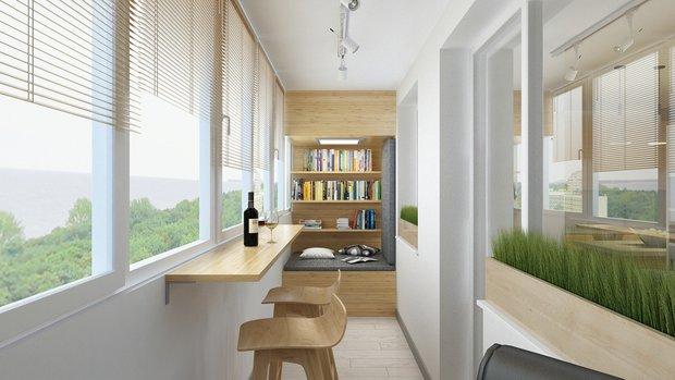 Фотография: Балкон в стиле Современный, Эко, Квартира, Советы – фото на INMYROOM