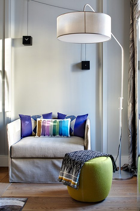 Фотография: Мебель и свет в стиле Восточный, Квартира, Дома и квартиры, Перепланировка – фото на InMyRoom.ru