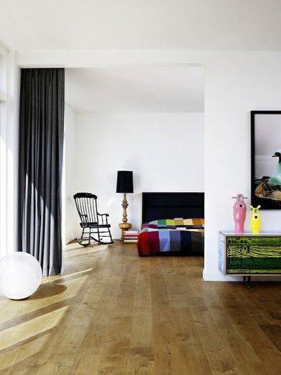 Фотография: Спальня в стиле Эклектика, Декор интерьера, Декор дома, Ширма, Перегородки – фото на INMYROOM