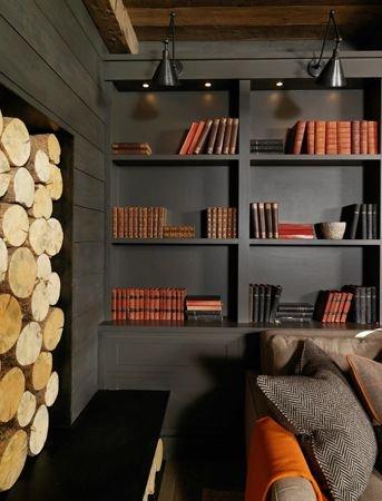 Фотография: Кабинет в стиле Прованс и Кантри, Декор интерьера, Декор, Домашняя библиотека, как разместить книги в интерьере, книги в интерьере – фото на INMYROOM