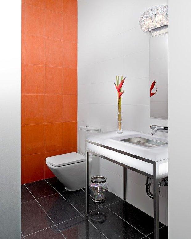 Фотография: Ванная в стиле Современный, Декор интерьера, Декор дома, Цвет в интерьере – фото на INMYROOM