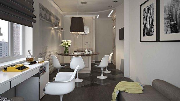 Фотография: Прочее в стиле Современный, Кухня и столовая, Гид – фото на INMYROOM