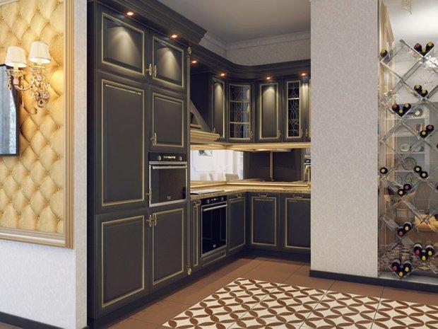 Фотография: Кухня и столовая в стиле Классический, Современный, Квартира, Планировки, Советы, Минимализм, Перепланировка – фото на INMYROOM