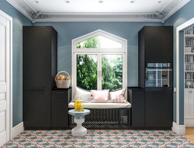 Фотография: Кухня и столовая в стиле Современный, Декор интерьера, Малогабаритная квартира, Гид, до 40 метров – фото на INMYROOM