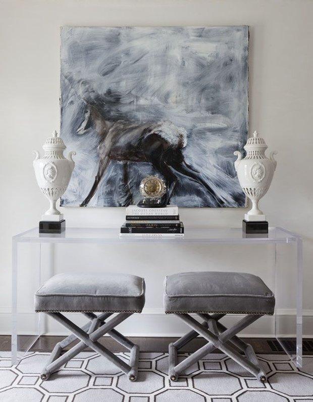 Фотография: Прихожая в стиле Классический, Советы, стекло в интерьере – фото на INMYROOM