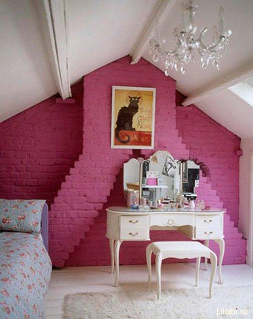 Фотография: Спальня в стиле Прованс и Кантри, Лофт, Скандинавский, Декор, Советы, Ремонт на практике, кирпич в интерьере, покраска кирпичной стены, кирпичная стена, кирпичная стена в интерьере, краска для кирпичной стены – фото на INMYROOM