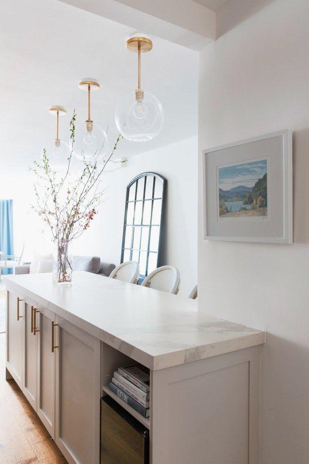 Фотография: Кухня и столовая в стиле Скандинавский, Современный, Советы, Нью-Йорк, переделка кухни, до и после – фото на INMYROOM