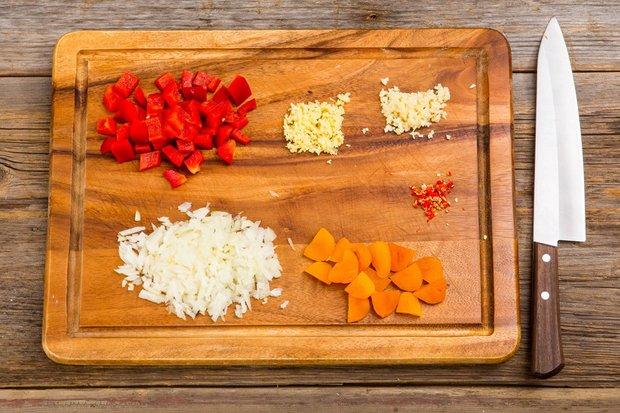 Фотография:  в стиле , Обед, Ужин, Основное блюдо, Тушение, Индийская кухня, Кулинарные рецепты, 30 минут, Вкусные рецепты, Домашние рецепты, Пошаговые рецепты, Новые рецепты, Рецепты вторых блюд, Рецепты с фото, Классические рецепты, Как приготовить быстро?, Как приготовить вкусно?, Средняя сложность – фото на INMYROOM