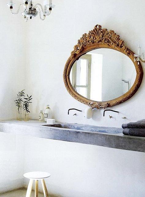 Фотография: Ванная в стиле Прованс и Кантри, Декор интерьера, Квартира, Декор, Советы, раковина, раковина в ванной – фото на INMYROOM