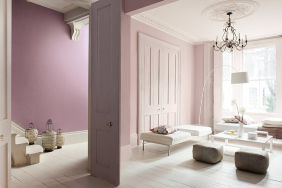 Фотография: Гостиная в стиле Минимализм, Декор интерьера, Дизайн интерьера, Цвет в интерьере, Dulux, ColourFutures, Akzonobel, Краски – фото на INMYROOM