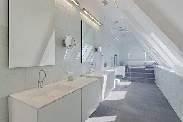 Фотография: Ванная в стиле Современный, Декор интерьера, Квартира, Дом, Дома и квартиры, Нью-Йорк, Пентхаус – фото на INMYROOM