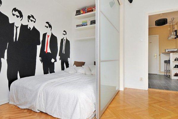 Фотография: Спальня в стиле Лофт, Декор интерьера, Мебель и свет – фото на INMYROOM