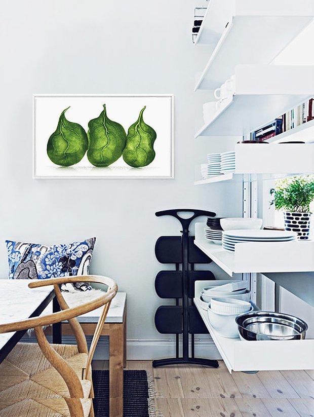 Фотография: Кухня и столовая в стиле Современный, Декор интерьера, Декор, Декор дома, Современное искусство – фото на INMYROOM