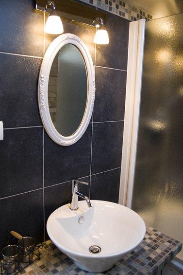 Фотография: Ванная в стиле Прованс и Кантри, Скандинавский, Интерьер комнат, Прованс – фото на INMYROOM
