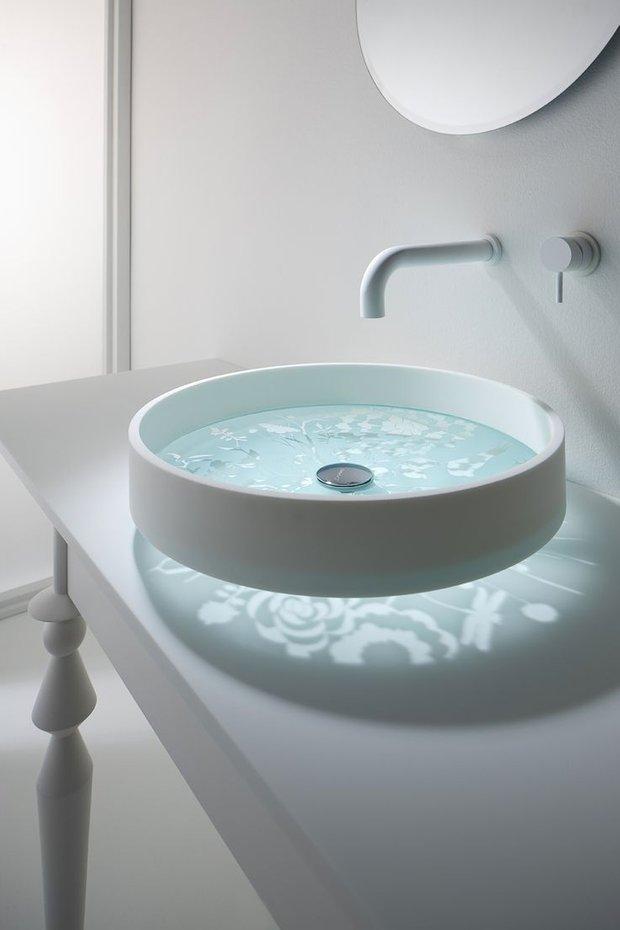 Фотография: Ванная в стиле Современный, Декор интерьера, Квартира, Декор, Советы, раковина, раковина в ванной – фото на INMYROOM