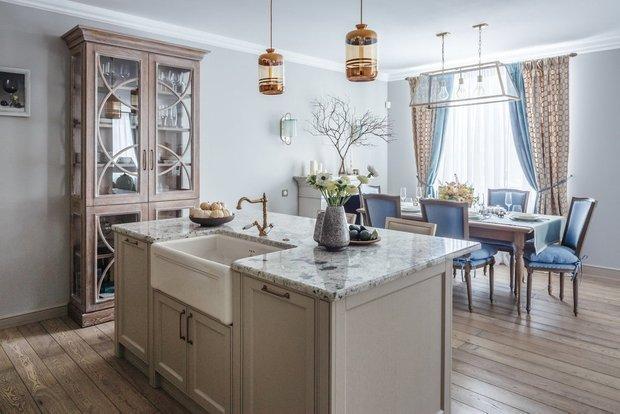 Фотография: Кухня и столовая в стиле Прованс и Кантри, Советы, Blanco, прованс на кухне, керамическая мойка, смеситель, смеситель в стиле кантри, смеситель в стиле прованс, мойка в стиле прованс – фото на INMYROOM