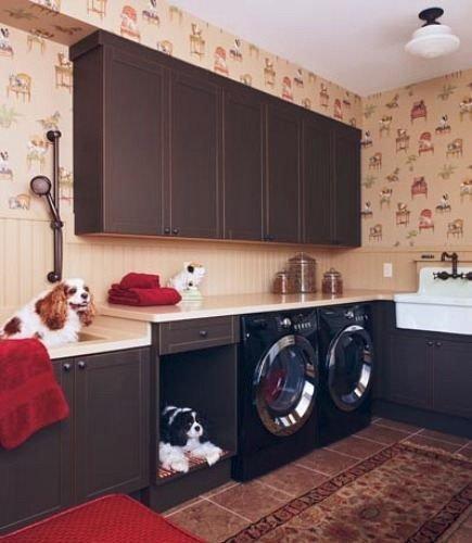 Фотография: Ванная в стиле Прованс и Кантри, Малогабаритная квартира, Квартира, Дома и квартиры – фото на INMYROOM