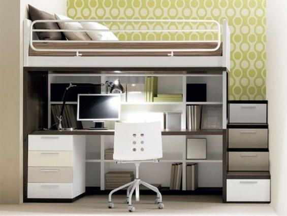 Фотография: Кабинет в стиле Современный, Декор интерьера, Малогабаритная квартира, Квартира, Дома и квартиры – фото на INMYROOM