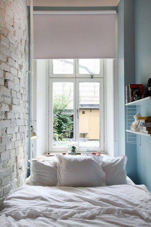 Фотография: Спальня в стиле Лофт, Малогабаритная квартира, Квартира, Советы – фото на INMYROOM