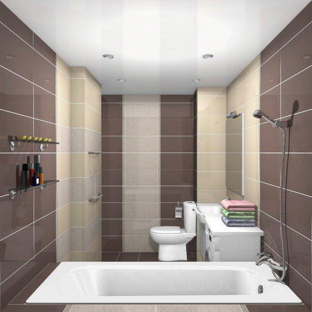 Фотография: Ванная в стиле Современный, Интерьер комнат, Перепланировка – фото на INMYROOM