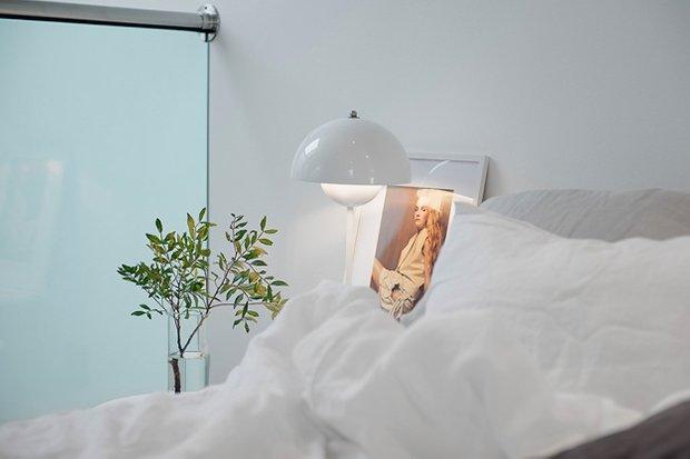 Фотография: Спальня в стиле Скандинавский, Квартира, Дома и квартиры, Стокгольм – фото на INMYROOM