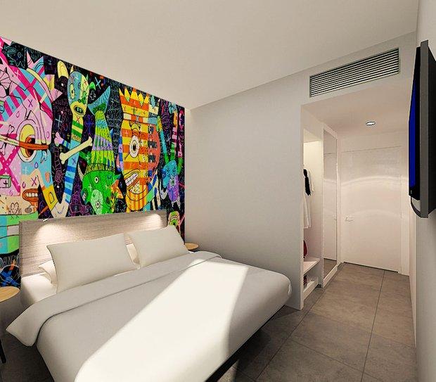 Фотография: Спальня в стиле Современный, Дома и квартиры, Городские места – фото на INMYROOM