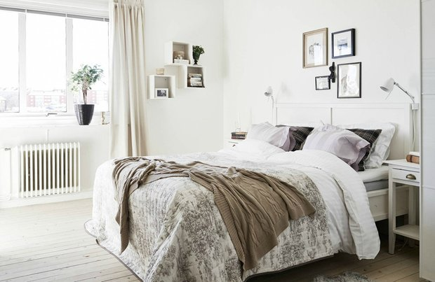 Фотография: Спальня в стиле Скандинавский, Декор интерьера, Квартира, Дом, Декор, Советы – фото на INMYROOM