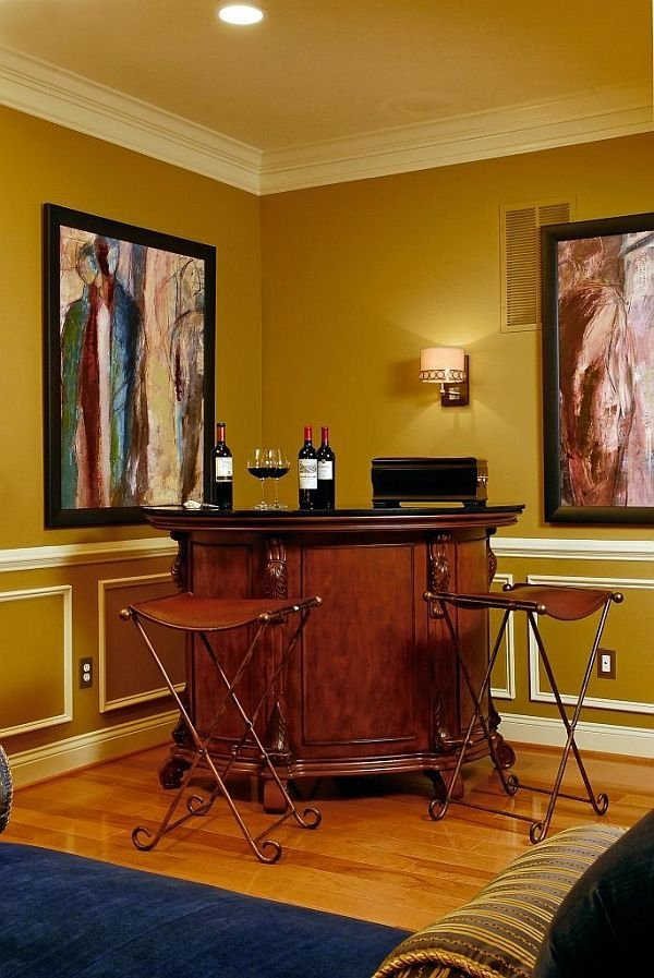 Фотография:  в стиле Эклектика, Кухня и столовая, Интерьер комнат, Барная стойка – фото на INMYROOM