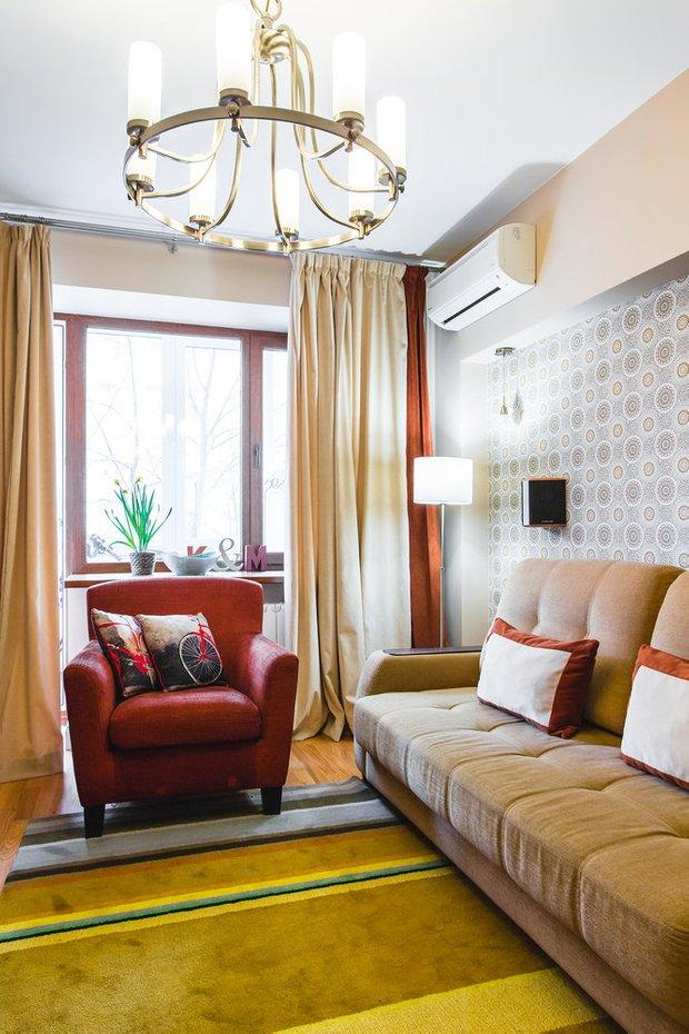 Фотография:  в стиле , Гостиная, Советы – фото на INMYROOM