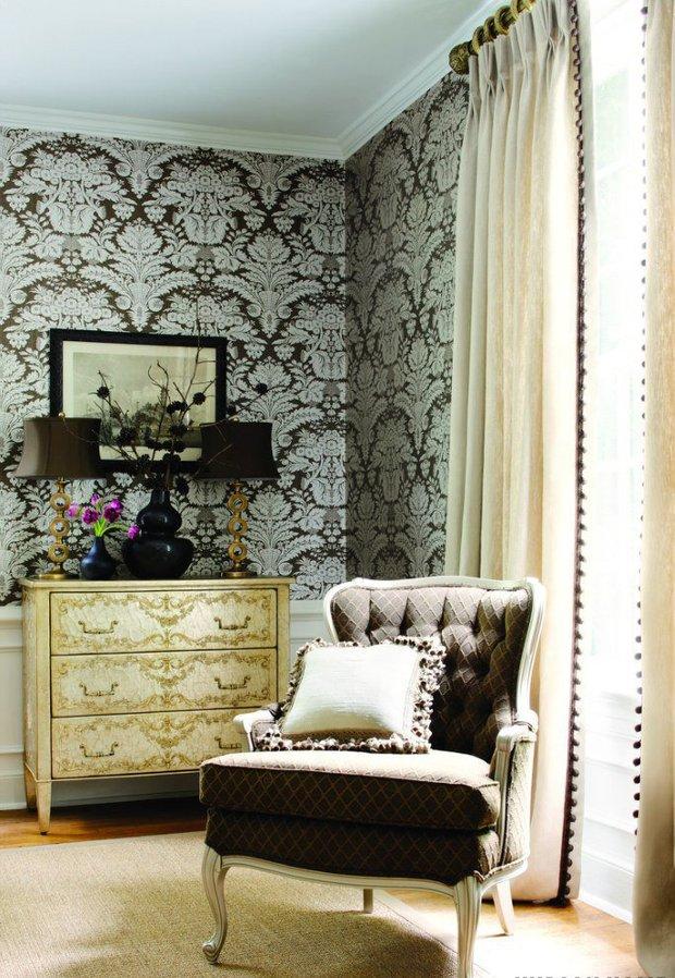 Фотография: Декор в стиле Классический, Современный, Стиль жизни, Советы, Обои – фото на INMYROOM
