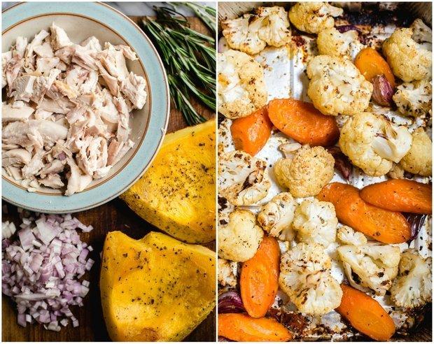 Фотография:  в стиле , Перекусить, Основное блюдо, Здоровое питание, Выпекание, Птица, Кулинарные рецепты, Тесто, 1 час, Овощи, Европейская кухня, Средняя сложность, Курица – фото на INMYROOM