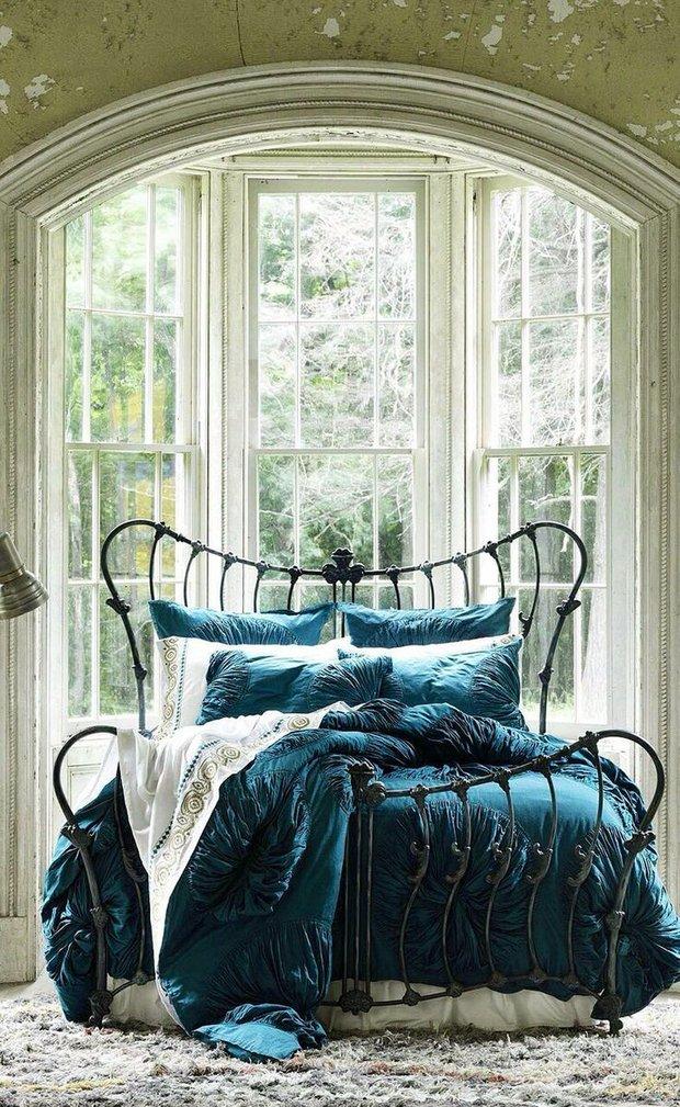 Фотография: Спальня в стиле Прованс и Кантри, Текстиль – фото на INMYROOM