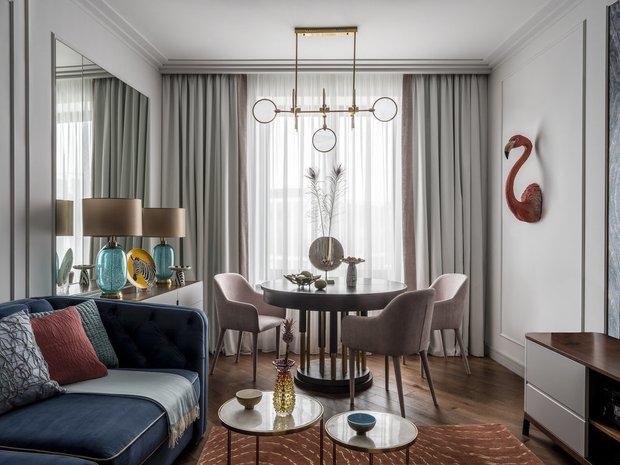 Фотография:  в стиле , Гостиная, Спальня, Квартира, Советы – фото на INMYROOM