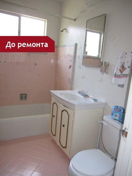 Фотография: Спальня в стиле Современный, Хай-тек, Ванная, DIY, Малогабаритная квартира, Квартира, Планировки, Переделка, Голубой – фото на InMyRoom.ru