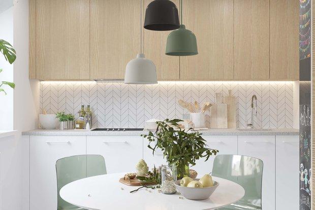 Фотография: Кухня и столовая в стиле Скандинавский, Советы, Павел Герасимов, Geometrium – фото на INMYROOM