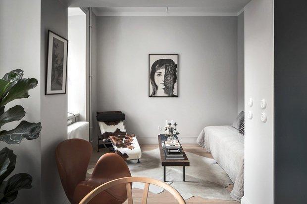 Фотография: Спальня в стиле Скандинавский, Декор интерьера, Малогабаритная квартира, Квартира, Студия, до 40 метров, Дорого и бюджетно – фото на INMYROOM
