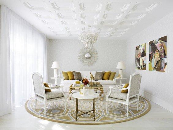 Фотография: Гостиная в стиле Классический, Современный, Дом, Дома и квартиры – фото на INMYROOM