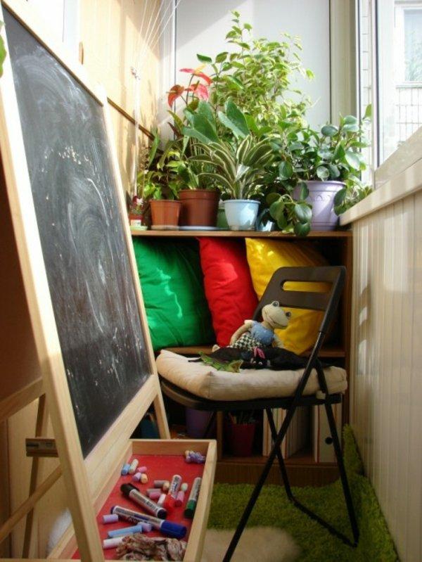 Фотография: Балкон, Терраса в стиле , Детская, Интерьер комнат – фото на INMYROOM