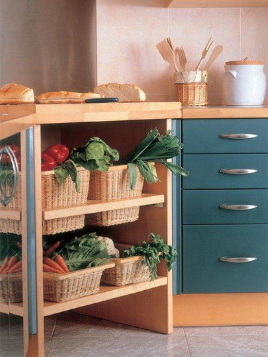 Фотография: Кухня и столовая в стиле Прованс и Кантри, Современный, Хранение, Стиль жизни, Советы – фото на INMYROOM