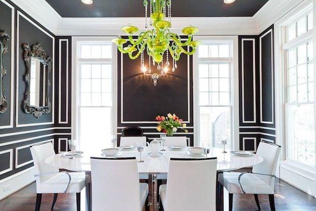 Фотография: Кухня и столовая в стиле Эклектика, Классический, Декор интерьера, DIY, Мебель и свет, Советы, Люстра – фото на INMYROOM