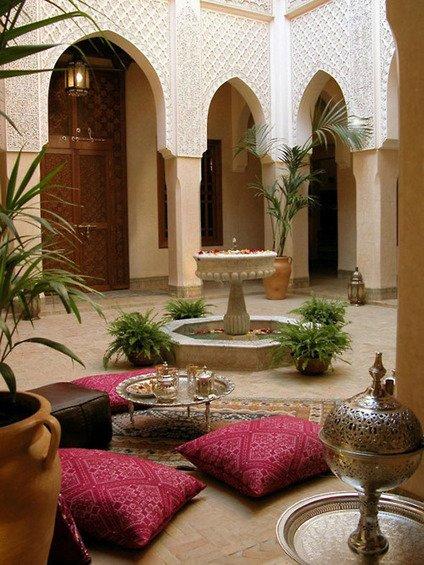 Фотография: Терраса в стиле Восточный, Декор интерьера, Дом, Декор дома, Цвет в интерьере – фото на INMYROOM