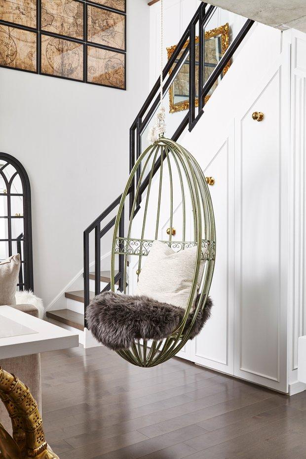 Фотография: Прихожая в стиле Современный, Декор интерьера, Квартира, США, Белый, Черный, Бежевый, 40-60 метров – фото на INMYROOM