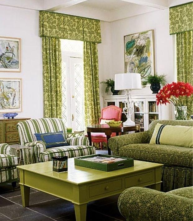 Фотография: Гостиная в стиле Классический, Декор интерьера, Квартира, Дом, Декор, Зеленый – фото на INMYROOM