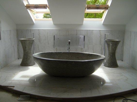Фотография: Ванная в стиле Современный, Эко, Квартира, Дома и квартиры – фото на INMYROOM