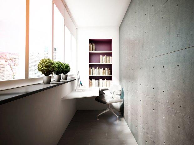 Фотография: Балкон, Терраса в стиле Современный, Интерьер комнат, Минимализм – фото на INMYROOM