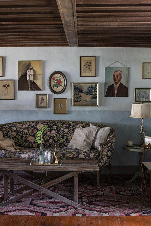Фотография: Гостиная в стиле Прованс и Кантри, Дом, Переделка, Дом и дача – фото на INMYROOM