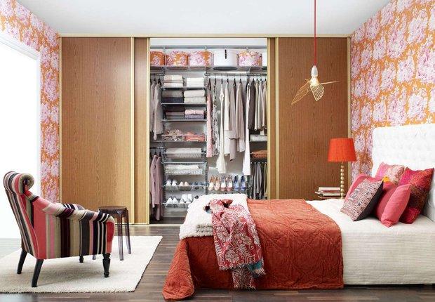Фотография: Спальня в стиле Эклектика, Гардеробная, Советы, Анна Русскина – фото на INMYROOM
